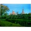 Картина  Монастырь  холст,  масло,  40х60 см.   1000 грн