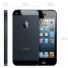 "iPhone 5S.  4"" дюйма TV + WI-FI (2 sim)  (черный)"