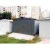 Металлический гараж из стали 1,  2 мм