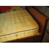 """Односпальная деревянная кровать """"Надия"""" б\у"""