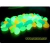 Светящиеся камни - комбинация люминофор ТАТ 33 и пластика