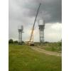Водонапорные башни,   Изготовление водонапорных башен на стальных опорах,   столбах